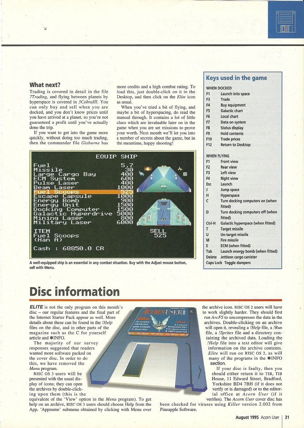 archimedes magazine article